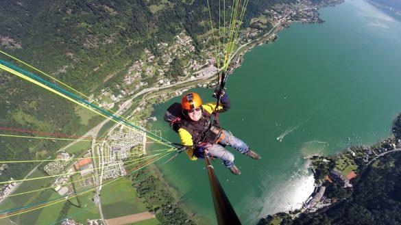 Flug Gerlitzen Ossiacher See